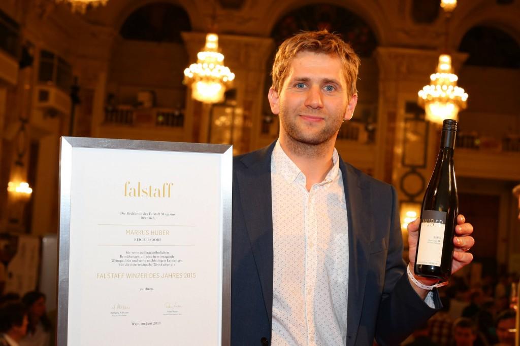 Markus Huber ist Winzer des Jahres 2015